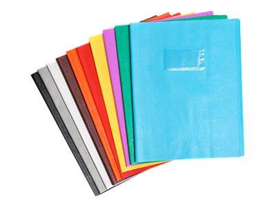 Calligraphe - Protège cahier sans rabat - 24 x 32 cm - grain cuir - orange