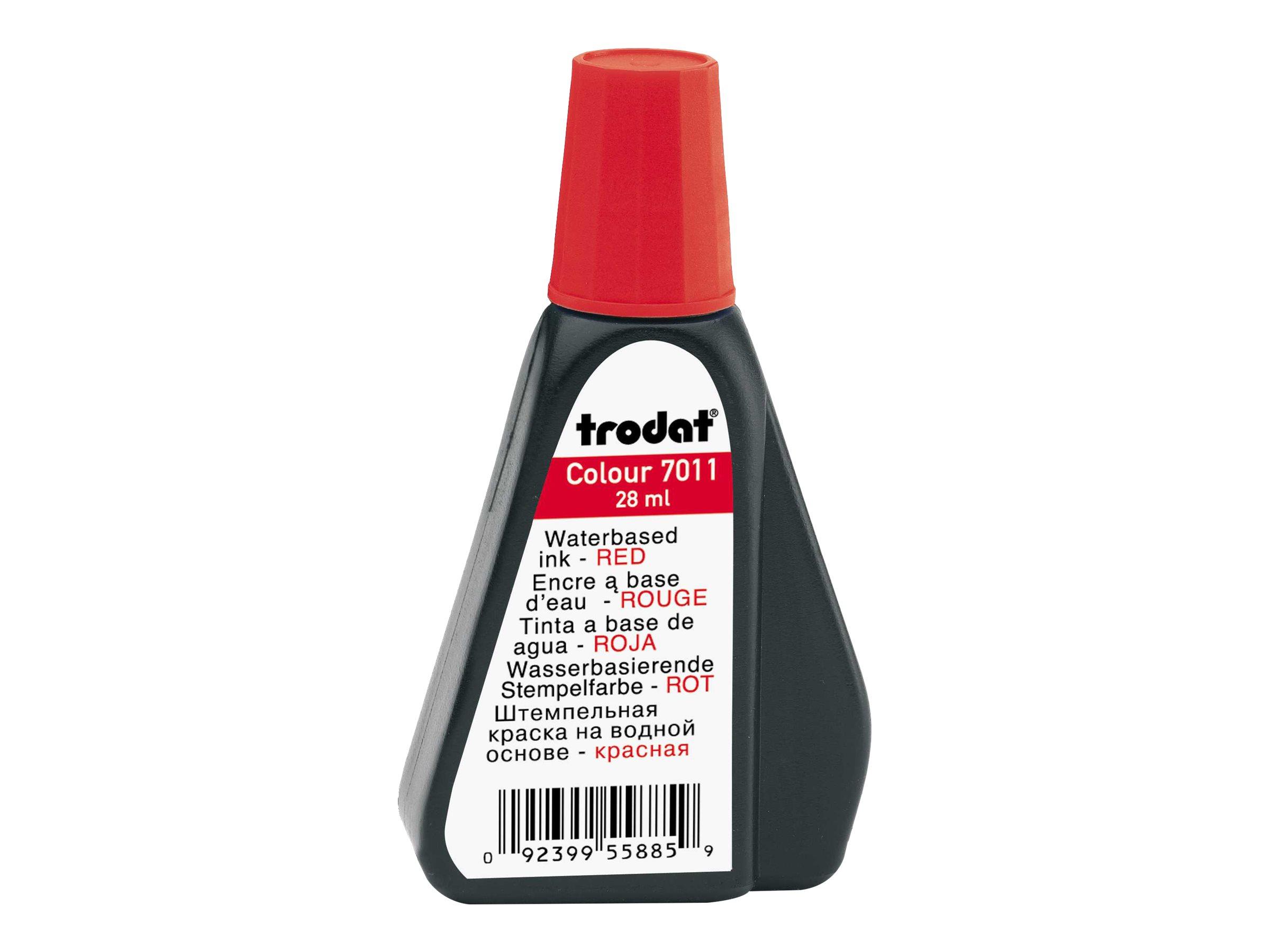 Trodat - Encre pour tampon - rouge - 28 ml