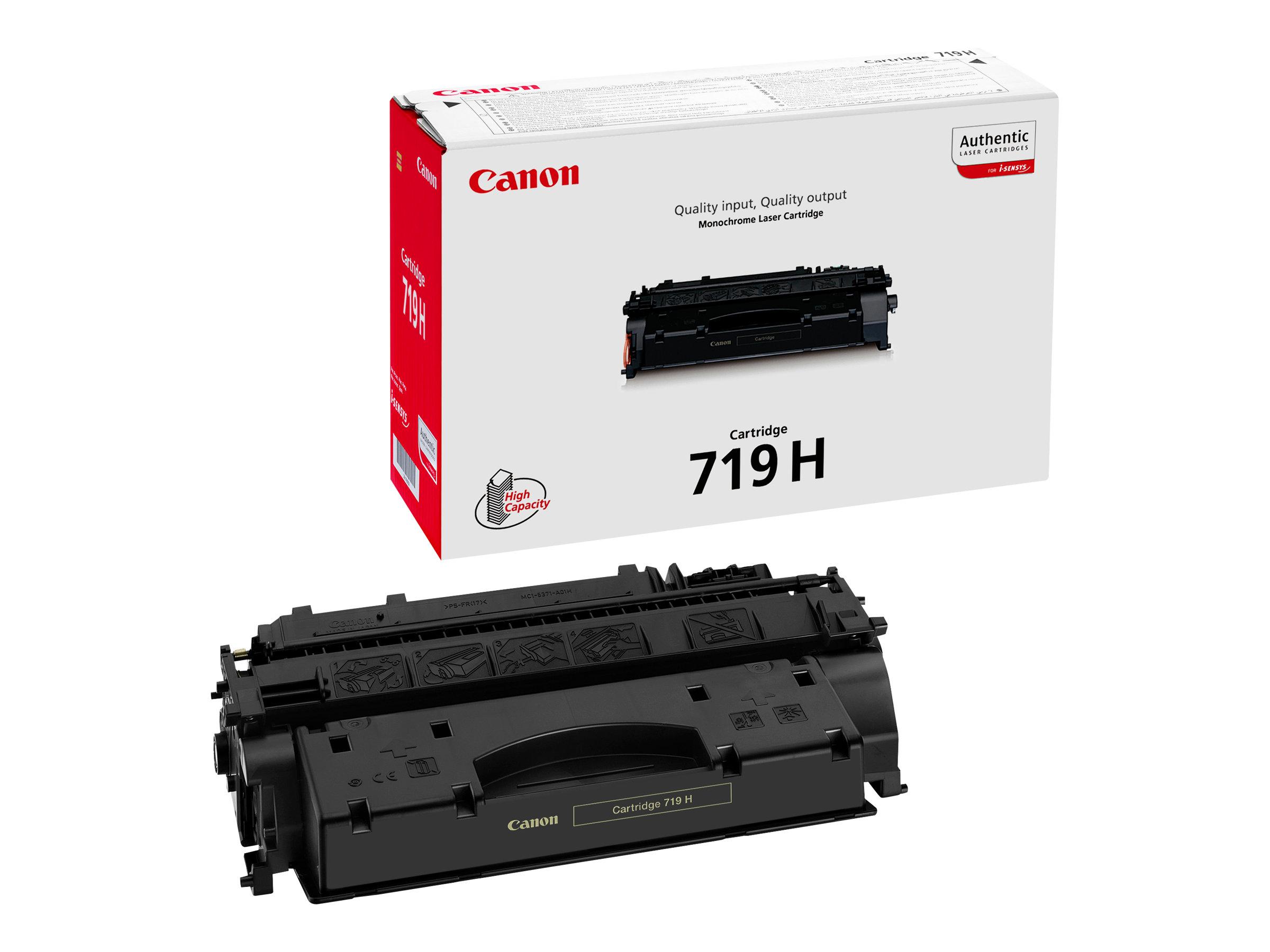 Canon 719H - noir - cartouche laser d'origine