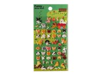Oberthur Funny Sticker World - Stickers - chiot