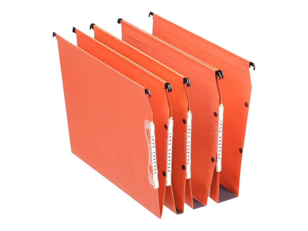 Esselte Dual - 25 Dossiers suspendus pour armoires -fond V