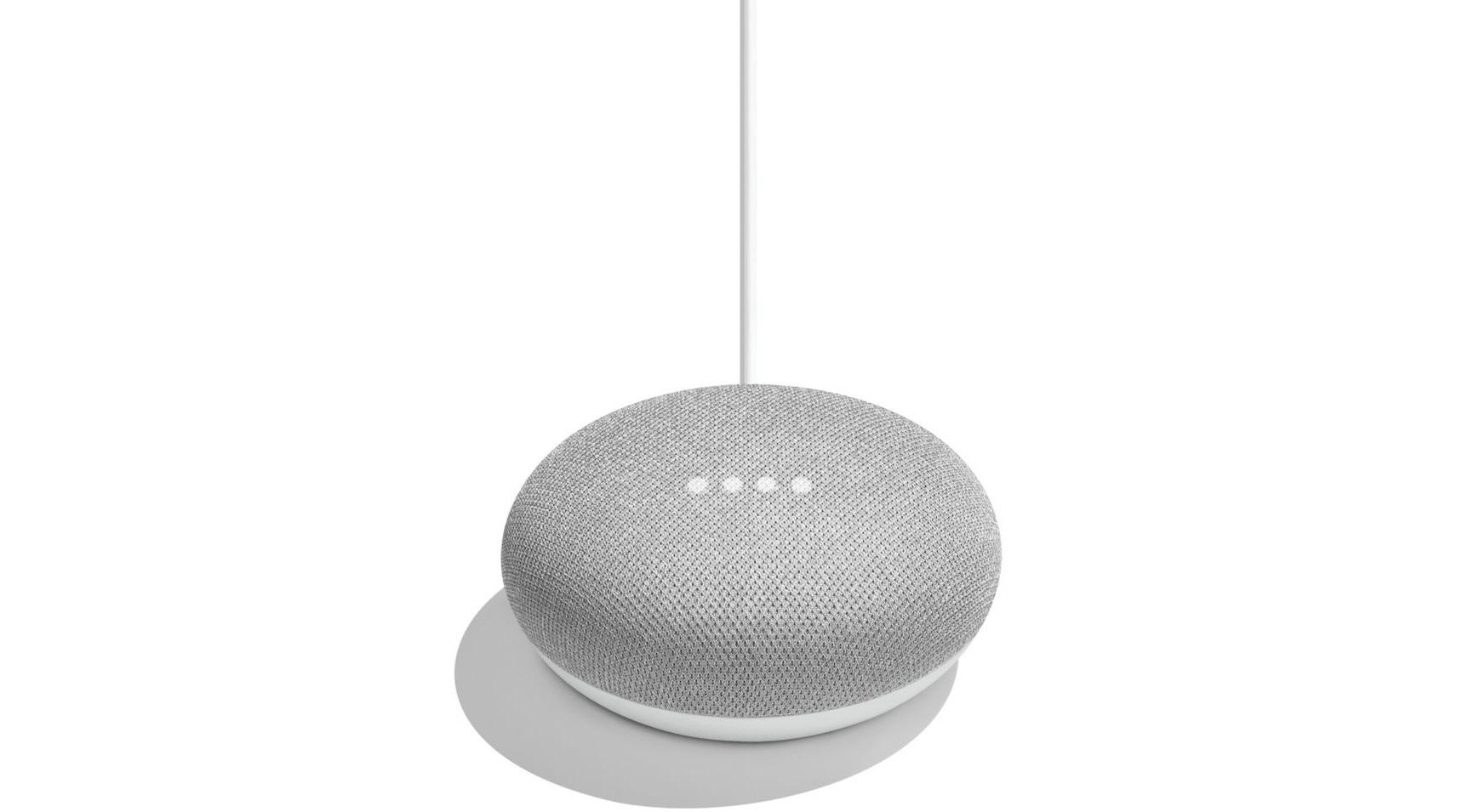 Google Home Mini galet - enceinte intelligente reconditionnée