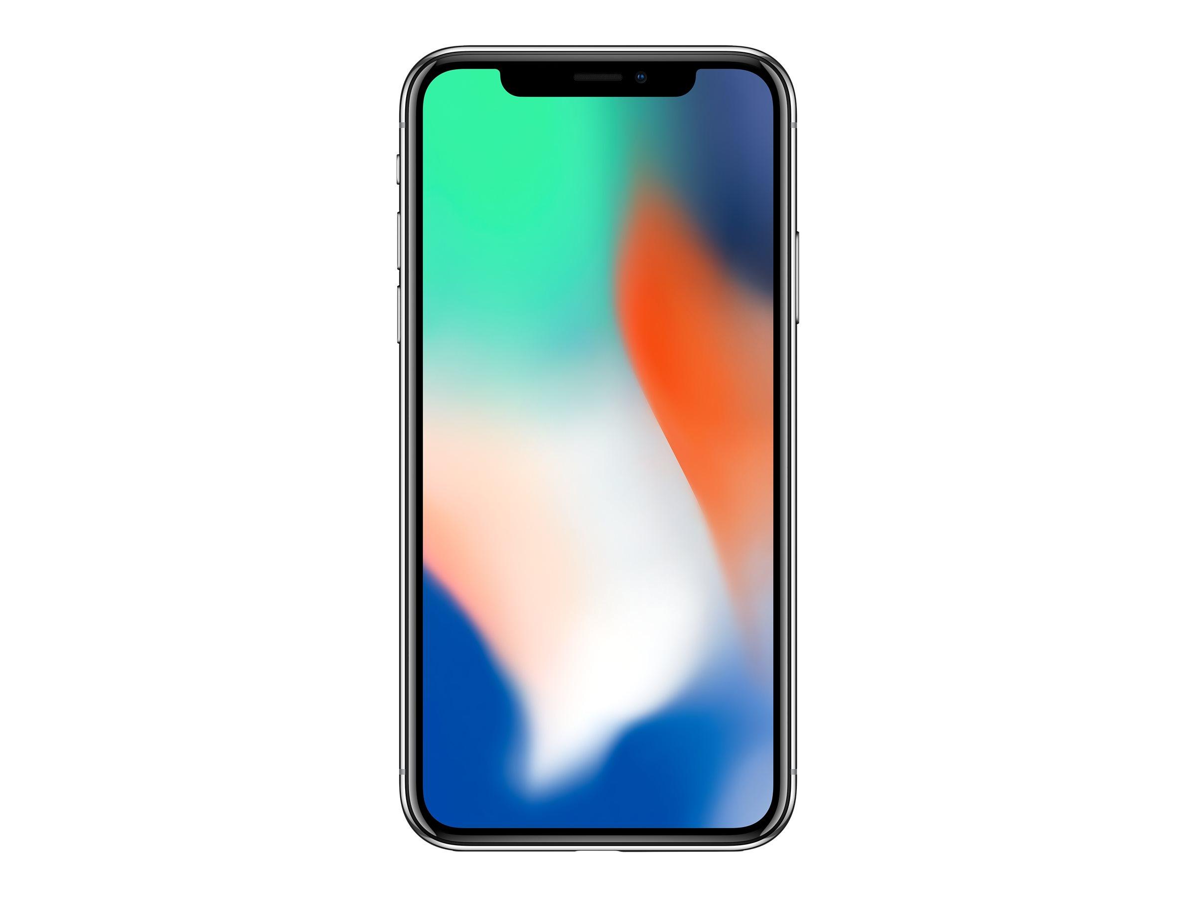 Apple iPhone X - 64 Go - smartphone reconditionné - argent