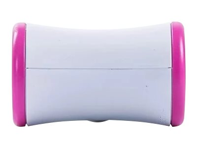 WATT & CO - Multiprise biplite rotative - blanc/rose