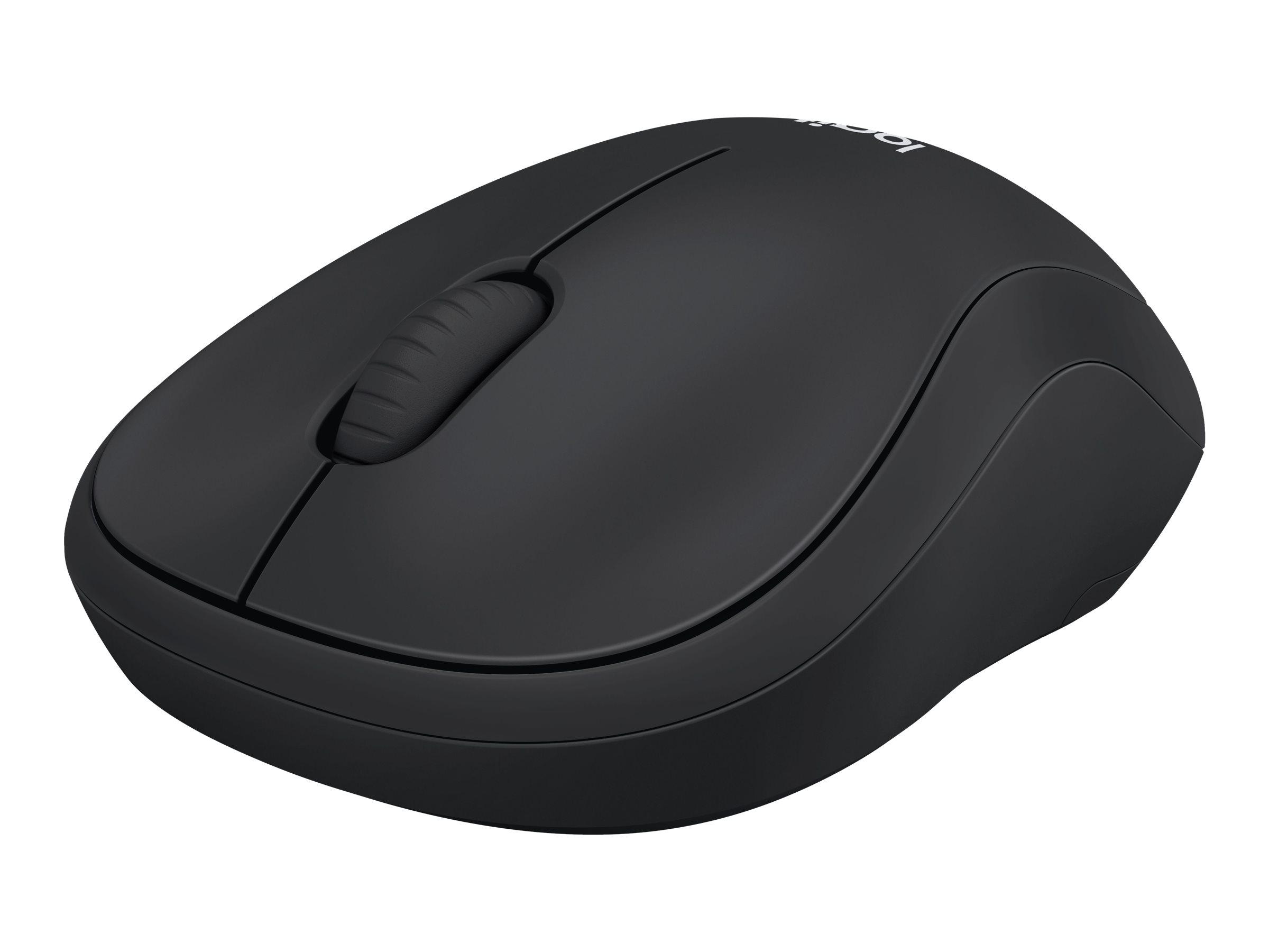 Logitech M220  - souris sans fil silencieuse - noire