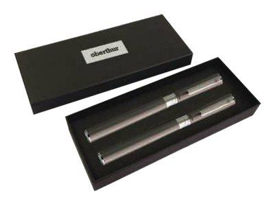 Oberthur URBAN ÉCLIPSE - Jeu de stylo à bille et de stylo plume - Marine