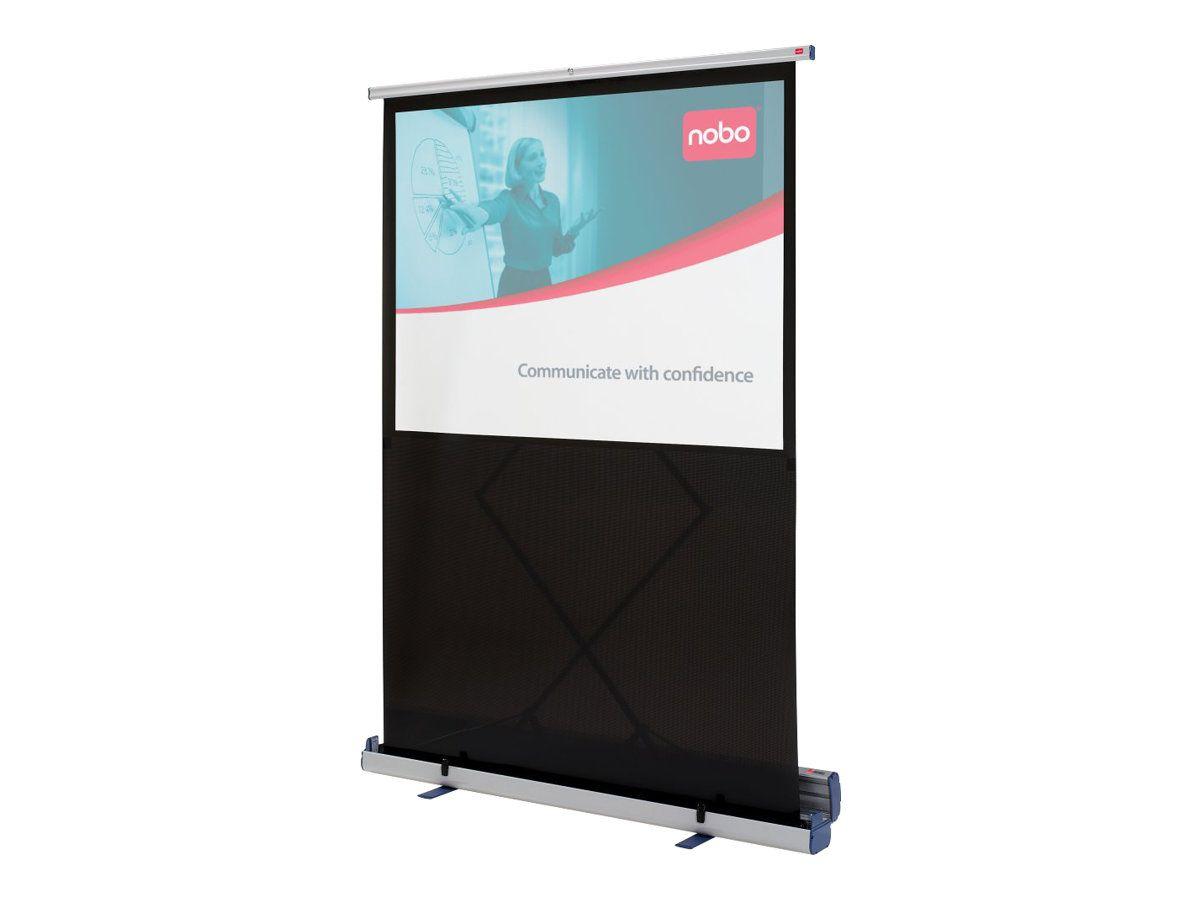 Peinture Pour Ecran Retroprojecteur nobo écran de projection avec support de pose au sol - 79 po (200 cm)