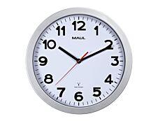MaulStep - Horloge - mécanisme radio pilotée - 30 cm - argent