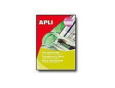 Apli Paper - Films transparents universels pour rétroprojecteur - A4 - 50 feuilles
