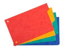 Exacompta Forever - Intercalaire 4 positions - pour fiches Bristol 10 x 15 cm - carte recyclée