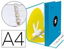 Antartik - Classeur à anneaux - Dos 25 mm - A4 - turquoise