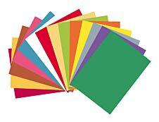 """Exacompta Rock""""s - 100 Chemises - 210 gr - pour 200 feuilles - couleurs assorties"""