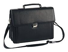Oberthur Bradford - Cartable rigide 2 compartiments - noir - 29 x 38 x 13 cm