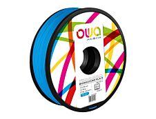OWA - filament 3D PLA-S - bleu ciel - Ø 2,85 mm - 750g
