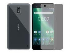 BigBen - kit coque souple + protection verre trempé pour Nokia2