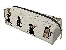 Kiub Bug Art - Trousse carrée - chats instruments de musique