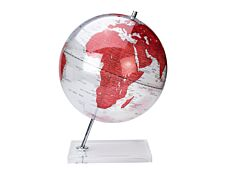 Sign Deco - Globe non lumineux 30 cm - rouge