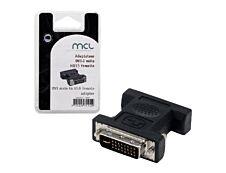 MCL Samar - adaptateur DVI-I (M) vers HD15 (F)