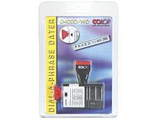 Colop - Tampon Dateur 0400/WD - multi formules