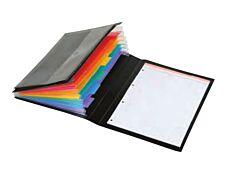 Viquel Rainbow Class - Trieur extensible 6 positions avec bloc papier