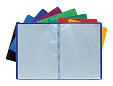 Exacompta - Porte vues - 160 vues - A4 - disponible dans différentes couleurs