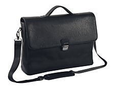 """Oberthur Oregon - Cartable rigide 2 compartiments - pour ordinateur portable 17,3"""" - noir"""