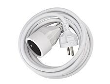 Ednet ASL8 - Rallonge électrique avec prise terre - 3m