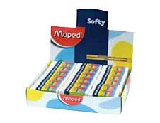 MAPED - Pack de 36 gommes fourreau - Mini Softy