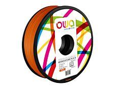 OWA - filament 3D PLA-S - orange - Ø 2,85 mm - 750g