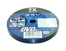 TX - 10 DVD+R - 4.7 Go