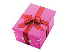 Leitz Click & Store - Boîte de rangement A4 - rose métallisé