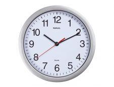 MaulRun - Horloge - mécanisme quartz - 25 cm - blanc argenté