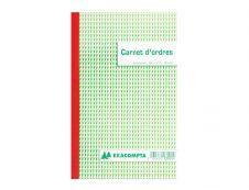 Exacompta - Manifold Carnet de commandes - 50 tripli - 21 x 18 cm