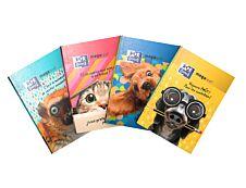Cahier de textes Oxford Funny Pets - 15 x 21 cm - différents modèles disponibles - Hamelin