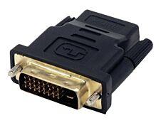 MCL Samar - adaptateur DVI-I (M) vers HDMI (F)