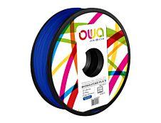 OWA - filament 3D PLA-S - bleu foncé - Ø 2,85 mm - 750g