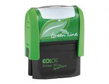 """Colop - Tampon Printer 20 Green Line - formule commerciale """"Payé"""""""