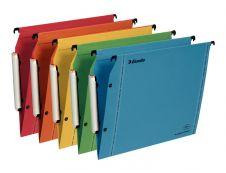 Esselte VisioPlus - 10 Dossiers suspendus pour armoires - coloris assortis - fond V