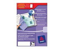 Avery - Double pochette intercalaire 12 positions - A4 Maxi - polypropylène