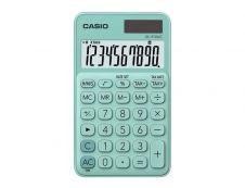 Calculatrice de poche Casio SL-310UC - 10 chiffres - alimentation batterie et solaire - vert