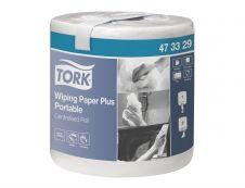 Tork Plus Portable M2 - Rouleau d'essuie-tout - 400 feuilles