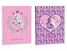 Cahier de texte Bella Sara - 15 x 21 cm - 2 décors au choix : Fairy ou Butterfly - Kid'Abord