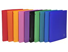 Exacompta - Classeur souple à anneaux - Dos 20 mm - A4 - pour 100 feuilles - disponible dans différentes couleurs