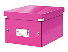 Leitz Click & Store - Boîte de rangement A5 - rose métallisé