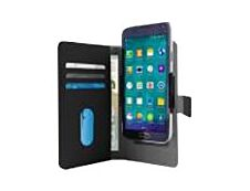 Puro - Etui Folio universel pour smartphone - Taille XL - noir
