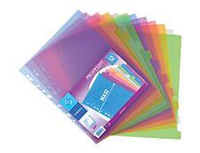 Viquel Propysoft - Intercalaire 12 positions - A4 Maxi - polypropylène coloré