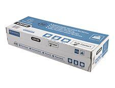 Exacompta - 10 Bobines caisses Safecontact - papier thermique simple couche 80 x 80 mm - 76 m