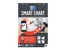 Oxford SmartChart - Recharge pour paperboard - 20 feuilles Scribzee