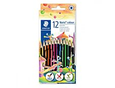STAEDTLER Noris Color - 12 Crayons de couleur