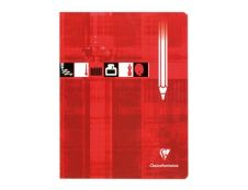 Clairefontaine - Cahier de dessin à carreaux 17 x 22 cm - 32 pages - 10x10 quadrillé